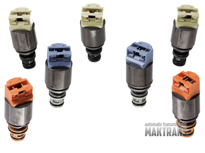 Solenoid kit ZF 6HP19X ZF 6HP19A ZF 6HP21X ZF 6HP26 ZF 6HP26A ZF 6HP28  mechanical shifting 04-up 1068298046