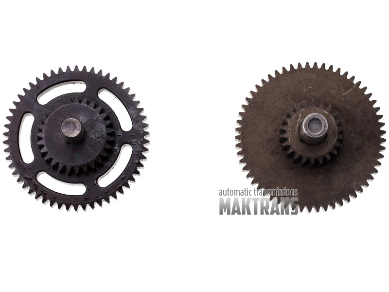 Shift fork gear set DCT250 (DPS6) used