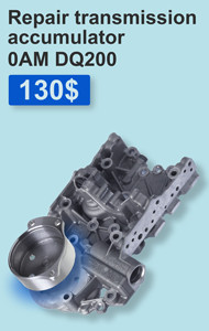 Repair DSG transmission accumulator