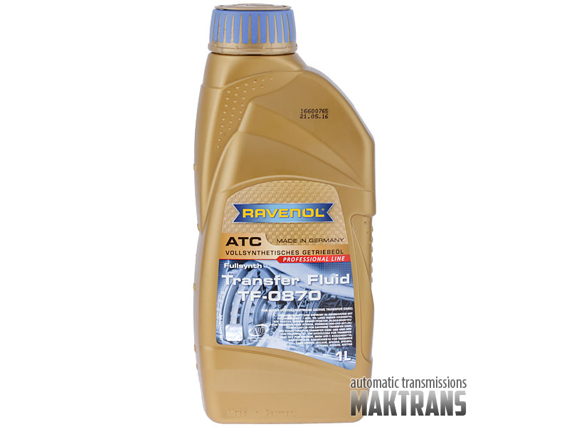 Ravenol Transfer Fluid Tf 0870 Synthetic For Bmw Xdrive