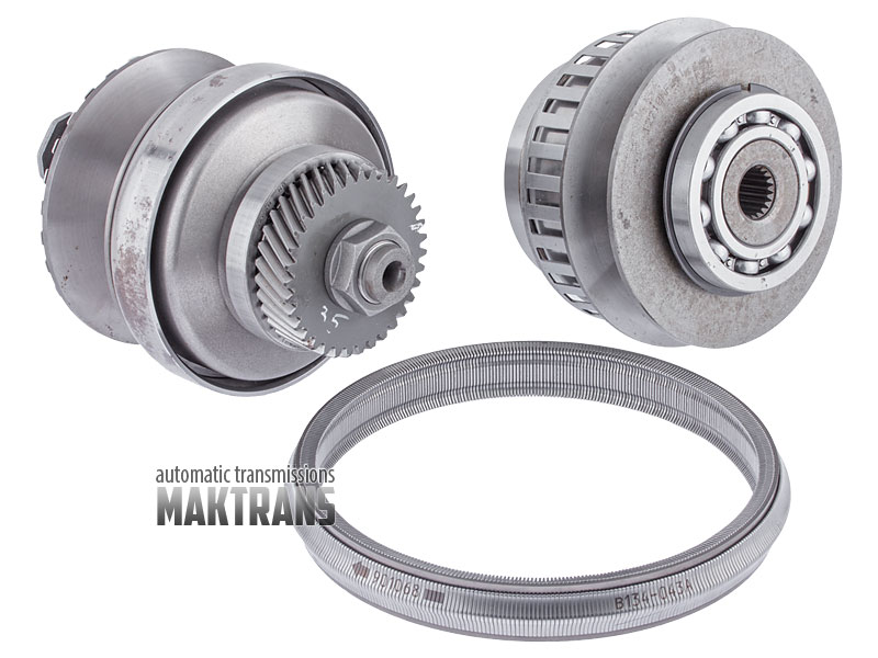 [Pulley set and belt JF015E RE0F11A ( 35 teeth ) CVT 09-up]